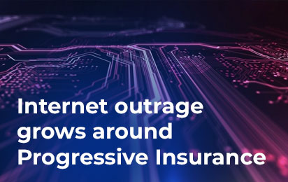 Internet outrage grows around Progressive Insurance